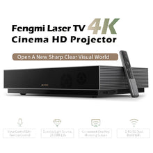 Load image into Gallery viewer, Xiaomi Fengmi L176FCN Laser Projector TV 4K Cinema HD Projector 150 Inch Home Theater 2GB+64GB 1700ANSI ALPD 3.0 3D Projector - Swix Electronics, LLC