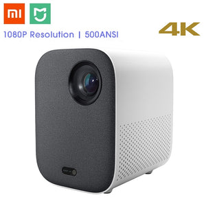 Xiaomi Mijia DLP Smart Mini Projector 500ANSI Home Theater 1080P Voice Control 2GB 8GB 5G WiFi 3D Dolby LED Cinema Projector - Swix Electronics, LLC