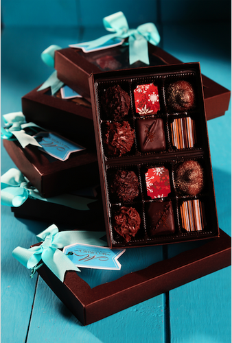 Assorted Truffle Gift Box - 12 Units