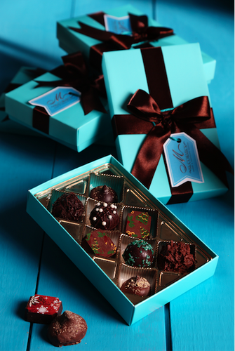Assorted Truffle Gift Box - 8 Units