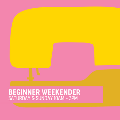 Beginner Learn to Sew Intensive Weekend