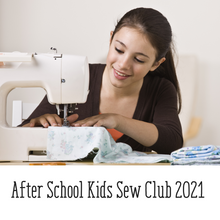 Sew Kids After school Club - Term 1 2021