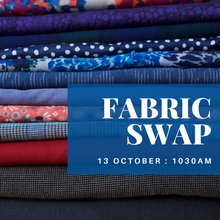 Fabric Swap - change of venue