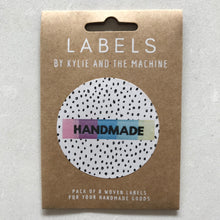 """Handmade"" sew in label"