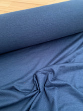 Denim coloured stretch fabric