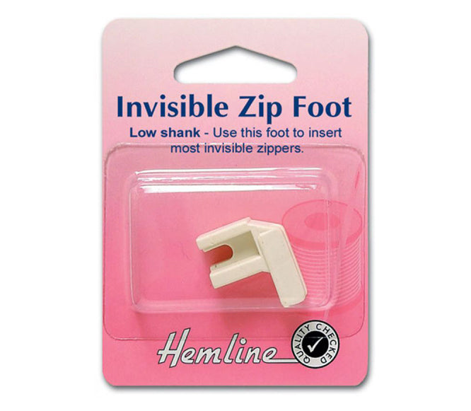 Invisible Zip Foot - Low Shank