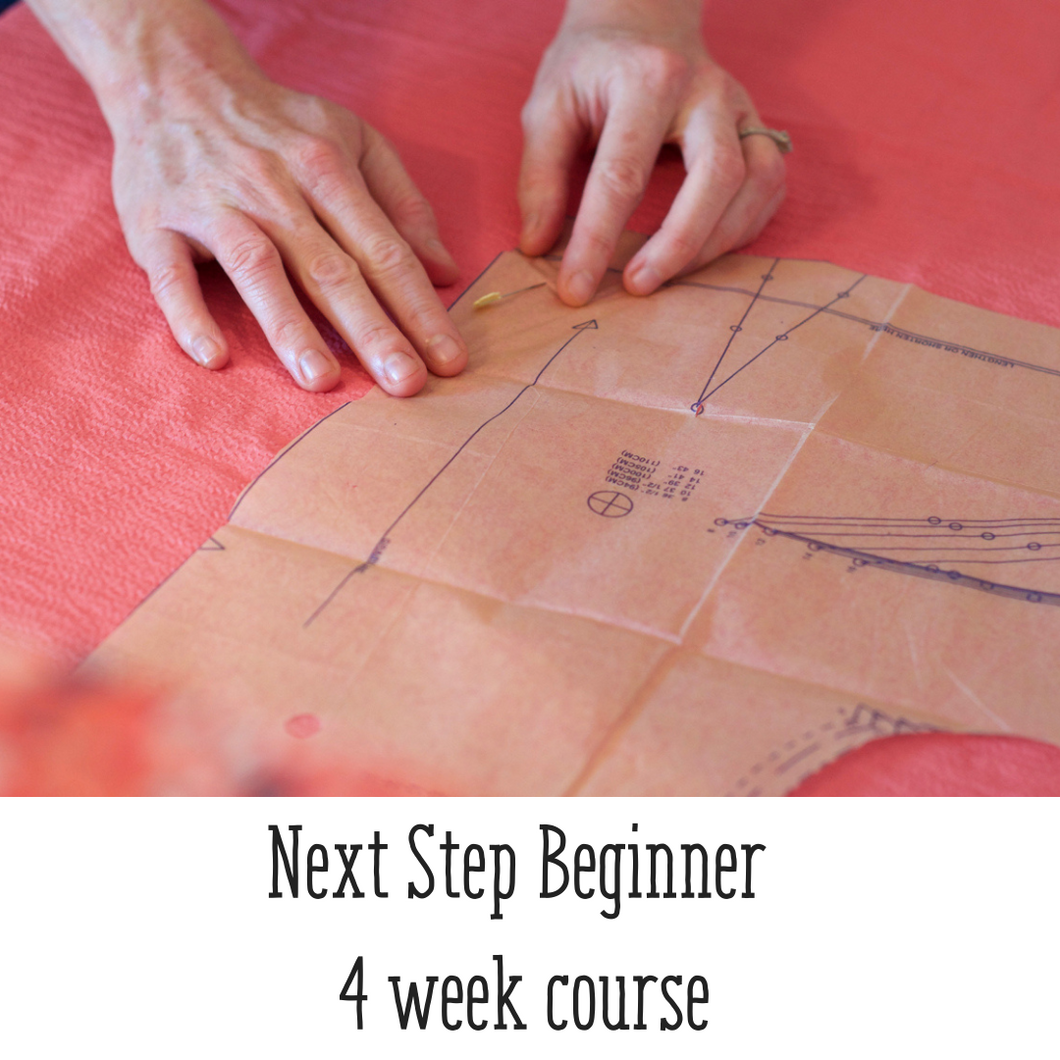 Next Step Beginner 4 week Course - Mornings