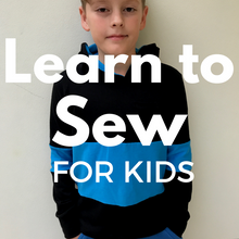Kids Learn to Sew!