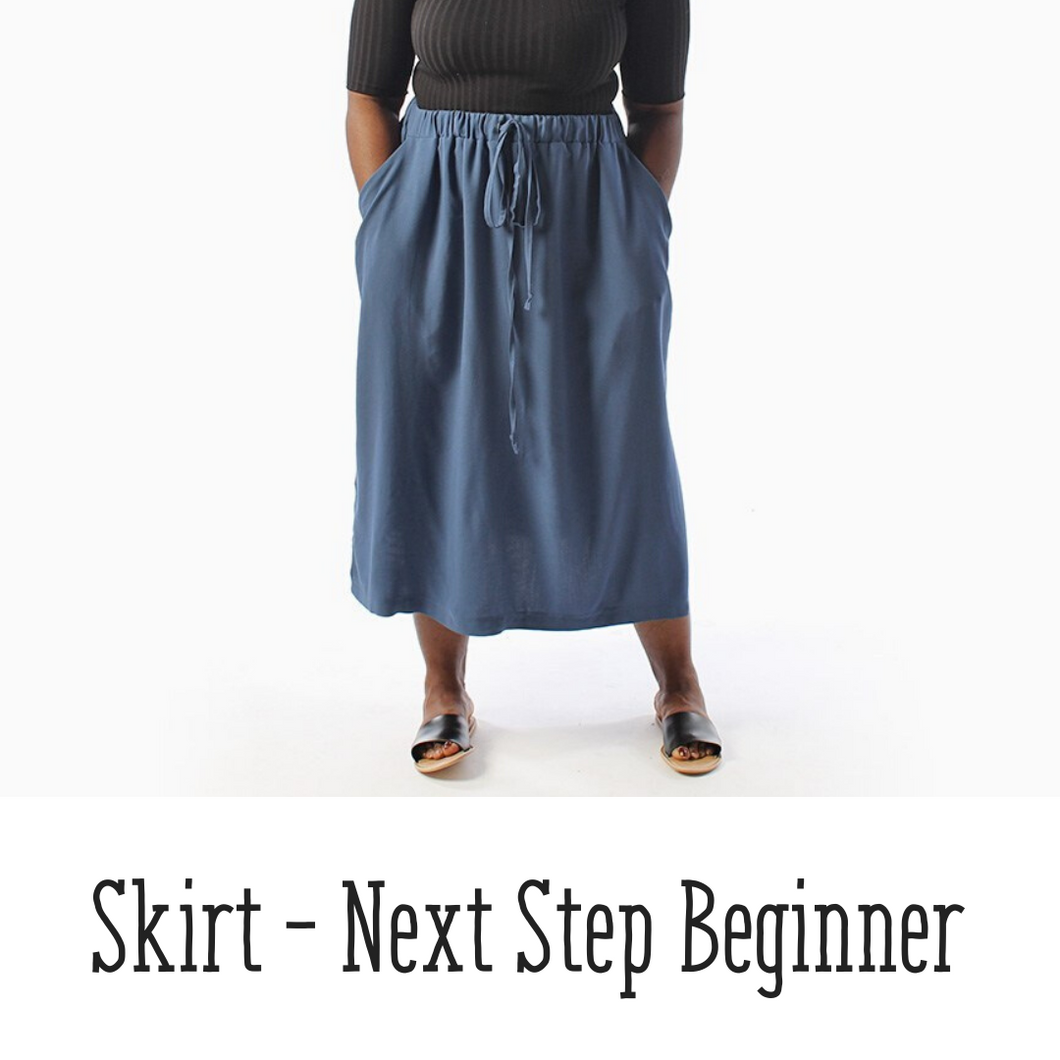 Gathered Skirt - Next Step Beginner