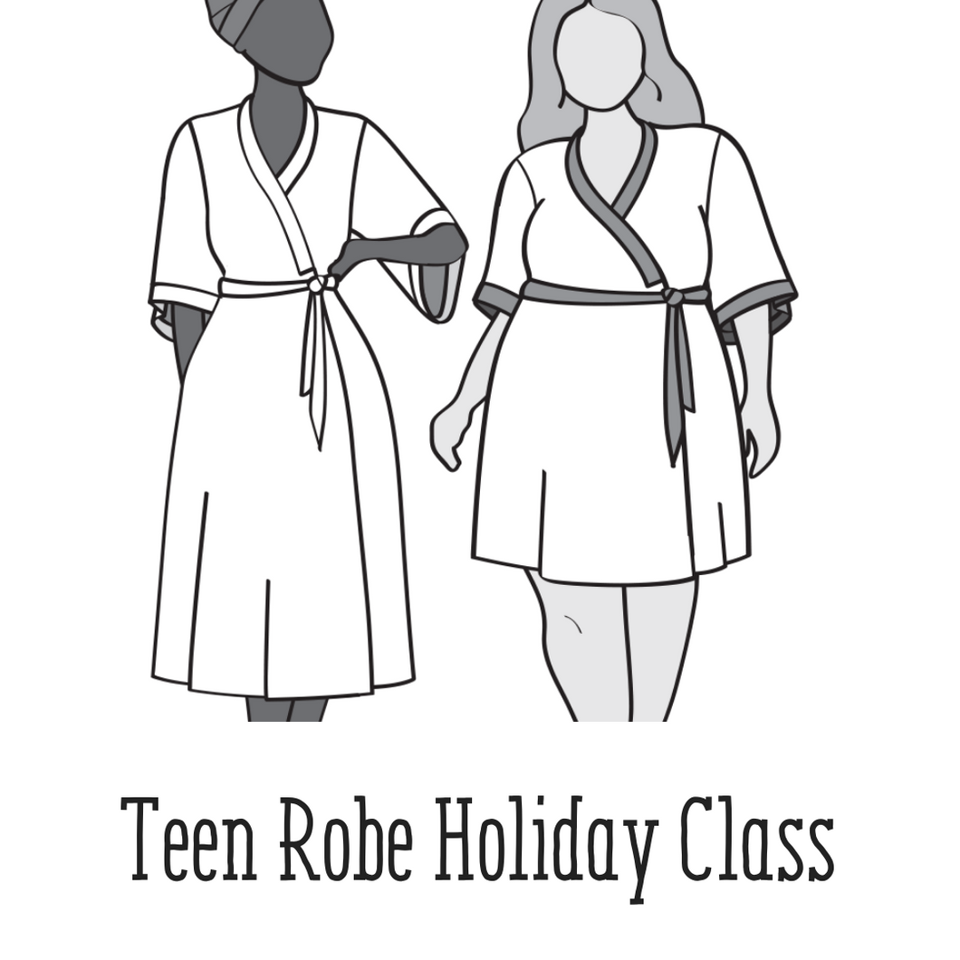Teen Holiday Sewing: Robe