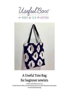 Tote Bag DIY Pattern