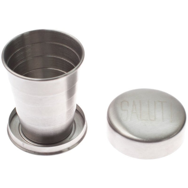 Stainless Steel Travel Cup Glass + Bar Ware Salut! Izola