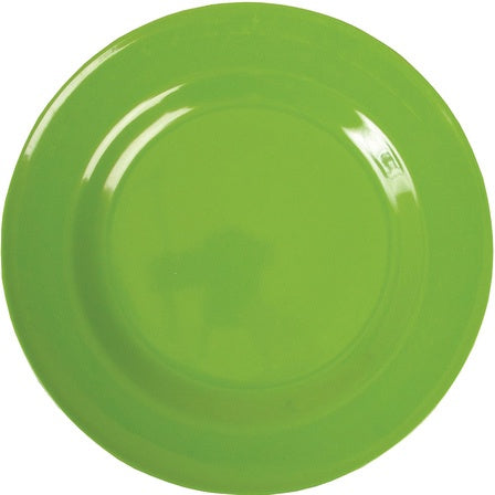 Rice Melamine Dinner Plate - Green