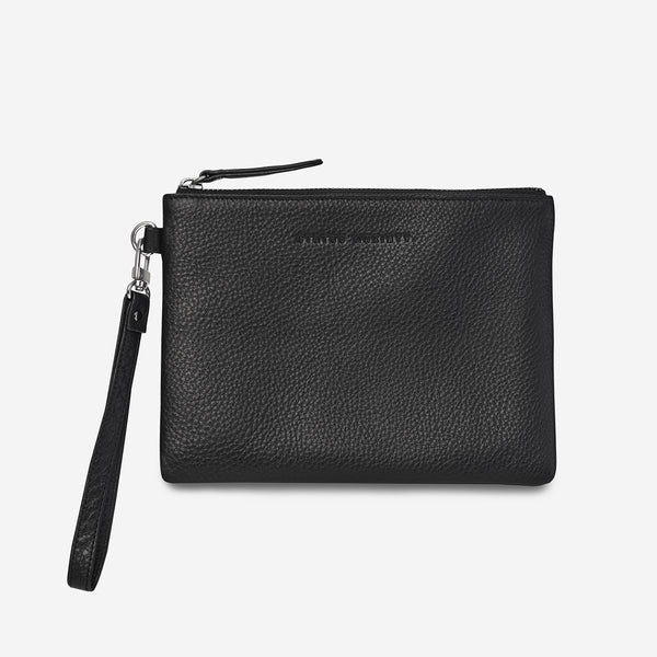 Fixation Clutch Bag - Black Bags + Wallets Default Title Status Anxiety
