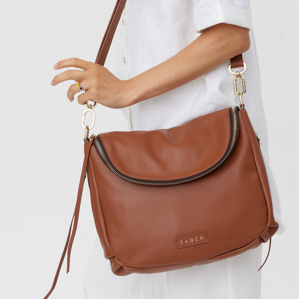 Tan Frankie Bag Bags + Wallets Default Title Saben