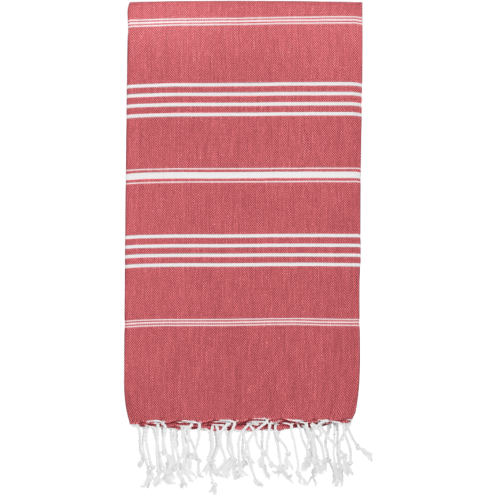 Hammamas Turkish Towel Original Raspberry