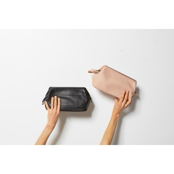 Status Anxiety Leather Liability Toilet Bag
