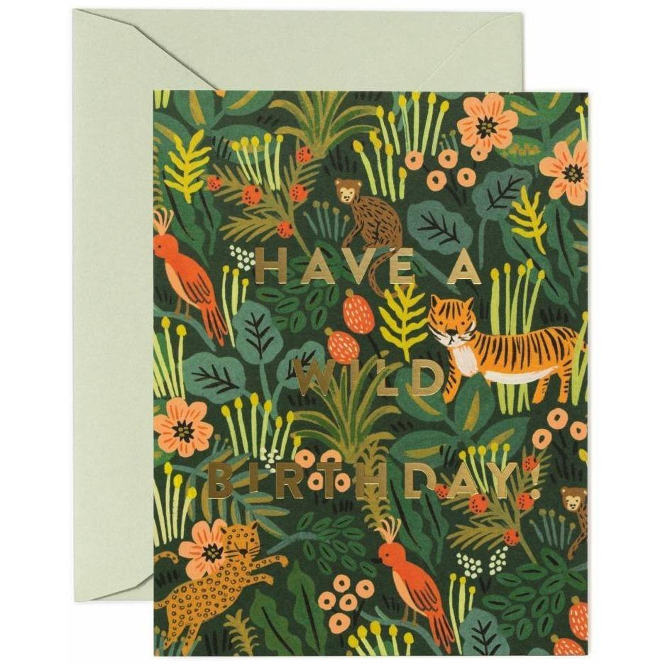 Wild Birthday Cards Default Title Rifle Paper