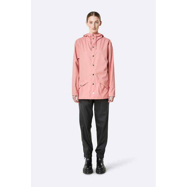 Rains Jacket - Coral Womens Clothing XXS/XS,XS/S,S/M,M/L,L/XL Rains