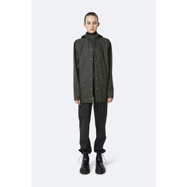 Rains Jacket - Green Womens Clothing XXS/XS,XS/S,S/M,M/L,L/XL Rains