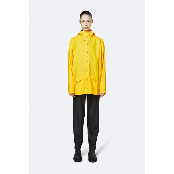 Rains Jacket - Yellow Womens Clothing XXS/XS,XS/S,S/M,M/L,L/XL Rains