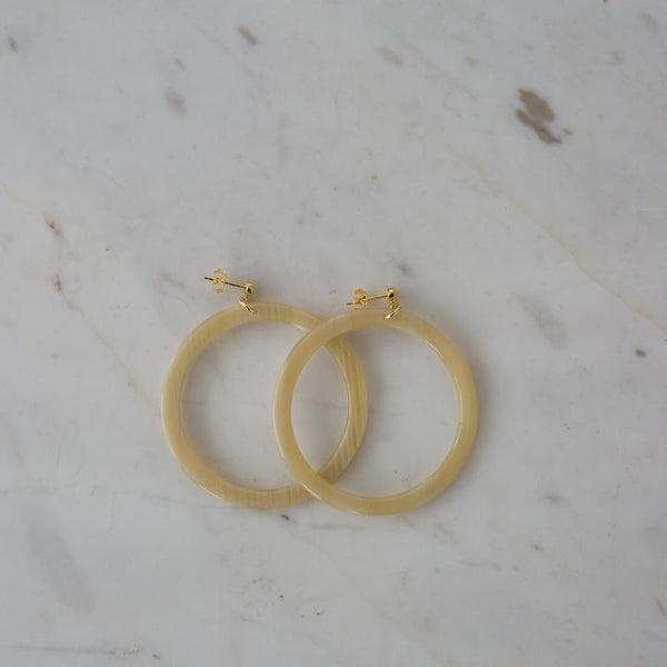 Sophie Blondie Hoop Earrings