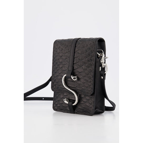 Hiss Satchel Bag - Black Snake Bags + Wallets Default Title Stolen Girlfriends Club