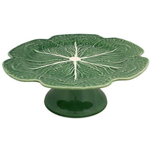 Cabbage Cake Stand - Natural Serveware Default Title Bordallo Pinheiro