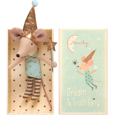 Maileg Mouse, Tooth Fairy in a Box, Boy