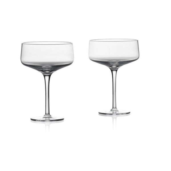 Rocks Martini /Coupe Glass - Set of 2 Glass + Bar Ware Default Title Zone Denmark