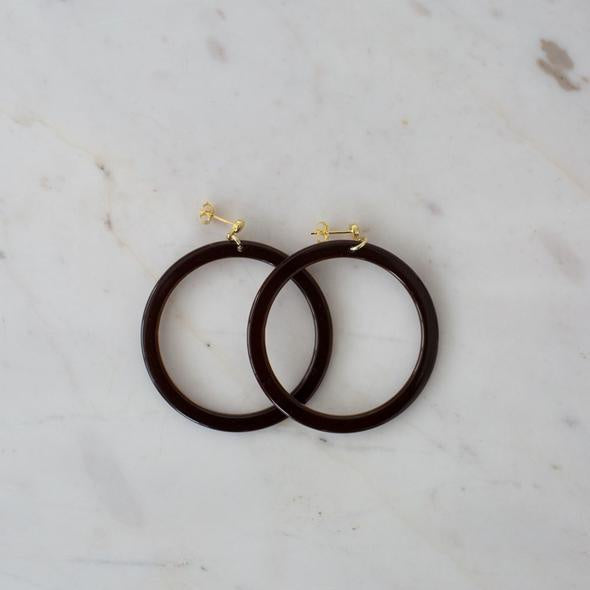 Sophie Bramble Hoop Earrings