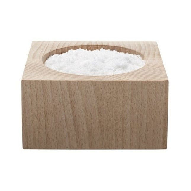 Salt Box -  Natural Beechwood Tableware Default Title Not specified