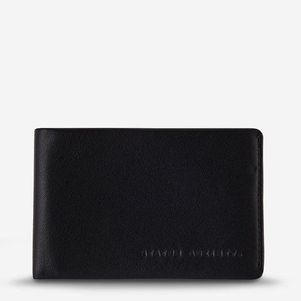 Quinton Wallet - Black Bags + Wallets Default Title Status Anxiety