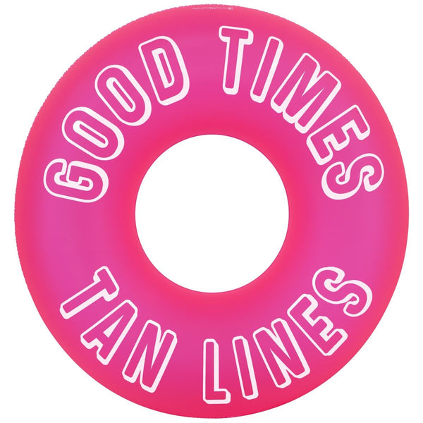 Sunnylife Pool Ring Neon Pink