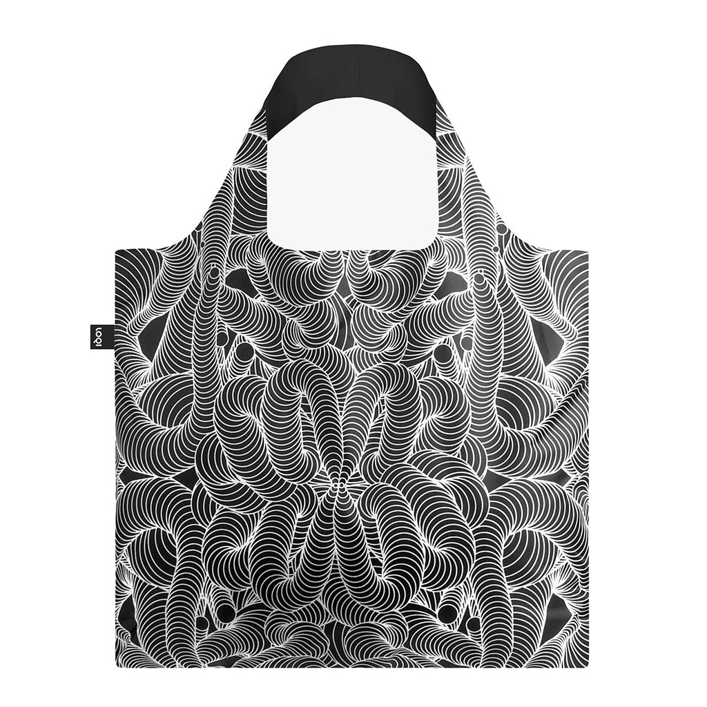 Loqi Shopping Bag Beauty Pattern, Loqi NZ, Reusable Shopping Bag