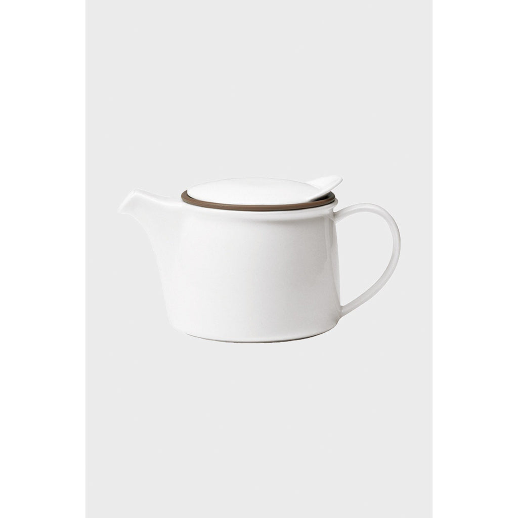 Brim Teapot - 2 Sizes Tea + Coffee 450ml,750ml Kinto