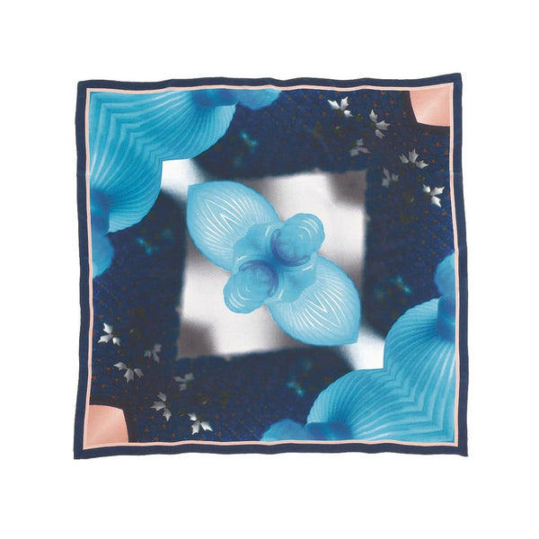 Good & Co American Blues Silk Scarf