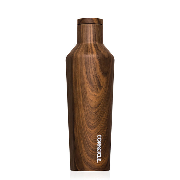 Origins Canteen 475ml - Walnut Wood Lunch Boxes + Water Bottles Default Title Corkcicle
