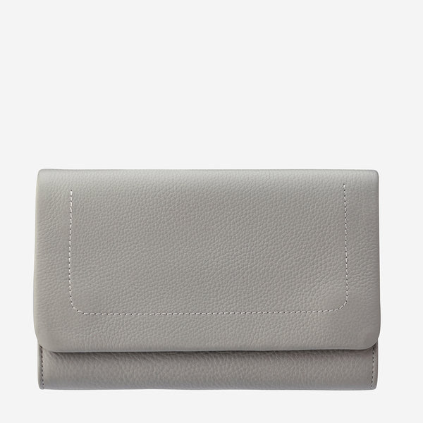 Status Anxiety Light Grey Remnant Wallet