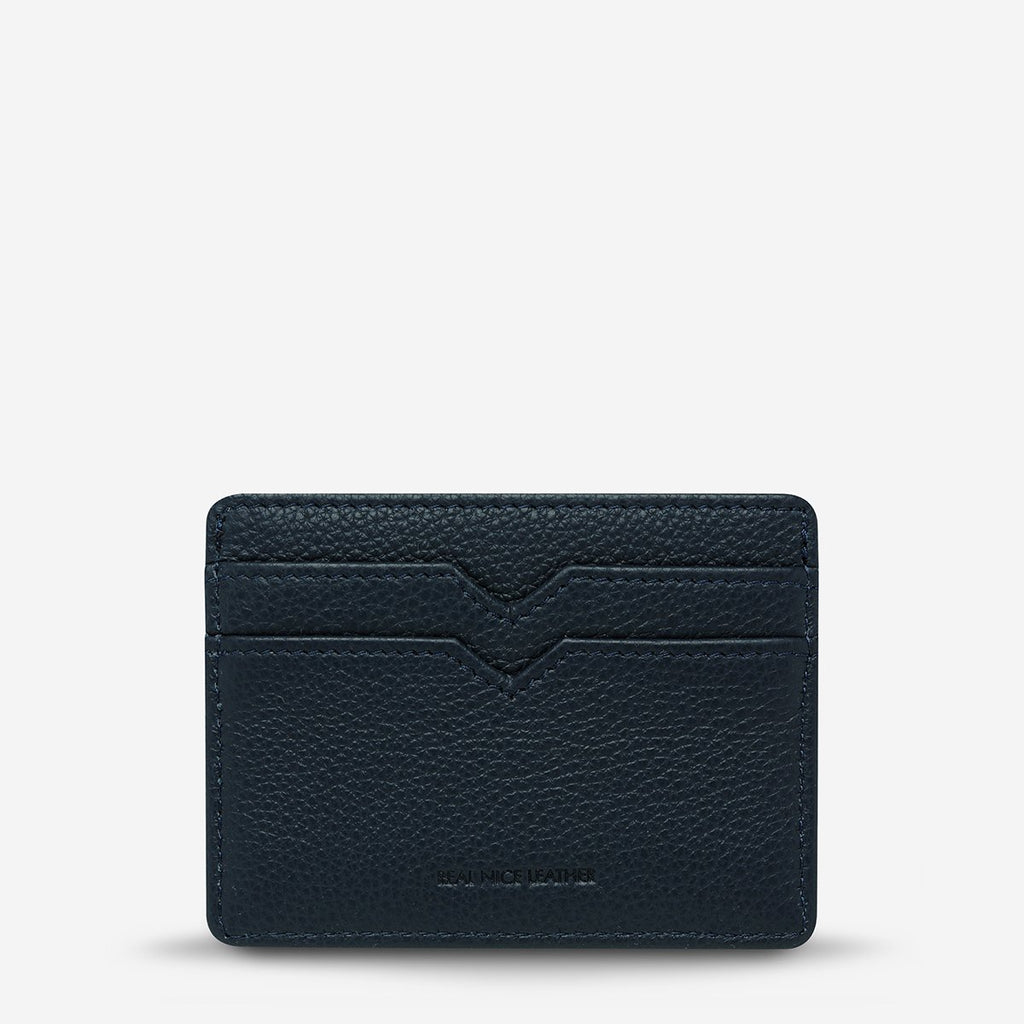 Together For Now Card Holder - Navy Bags + Wallets Default Title Status Anxiety