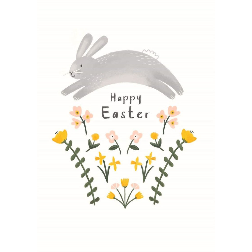 Happy Easter Bunny Jump - Card Cards Default Title Artpress