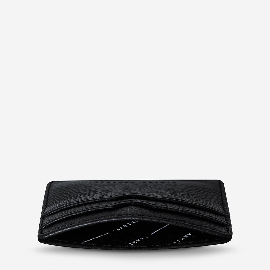Together For  Now Card Holder - Black Bags + Wallets Default Title Status Anxiety