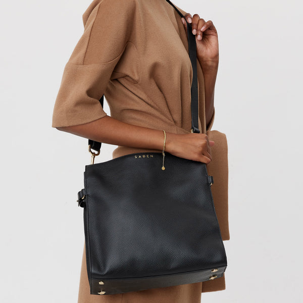 Black Beatrice Bag Bags + Wallets Default Title Saben