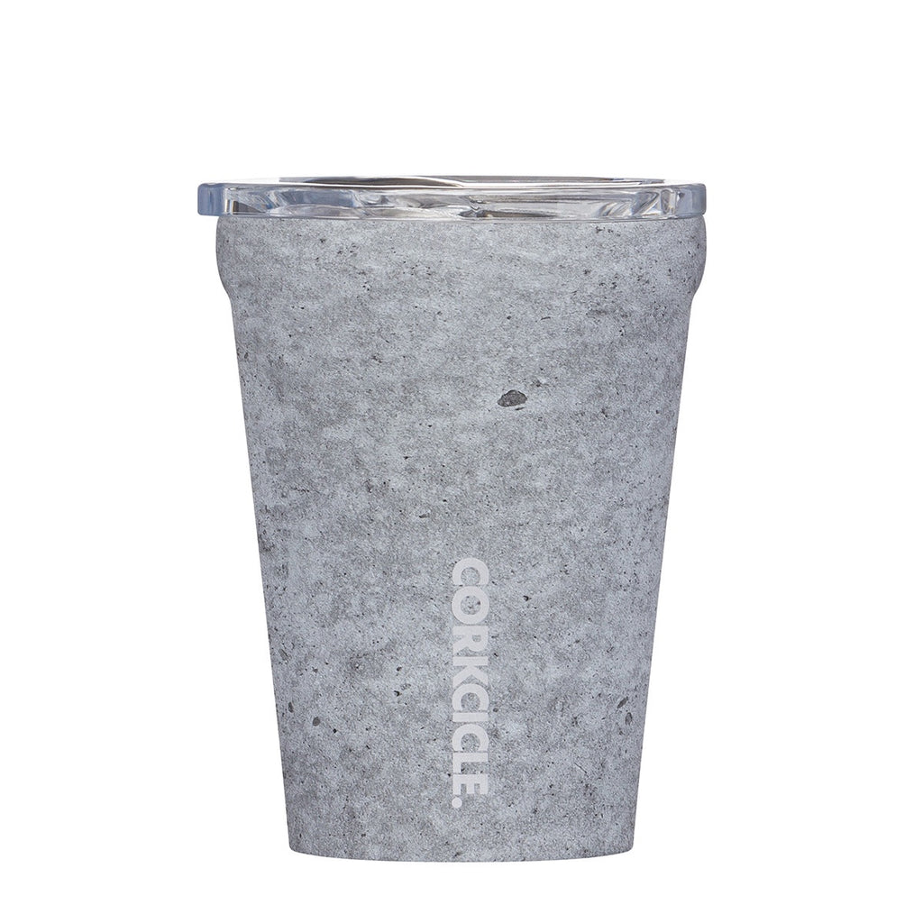 Origins Tumbler 355ml - Insulated Stainless Steel Cup - Concrete Tea + Coffee Default Title Corkcicle