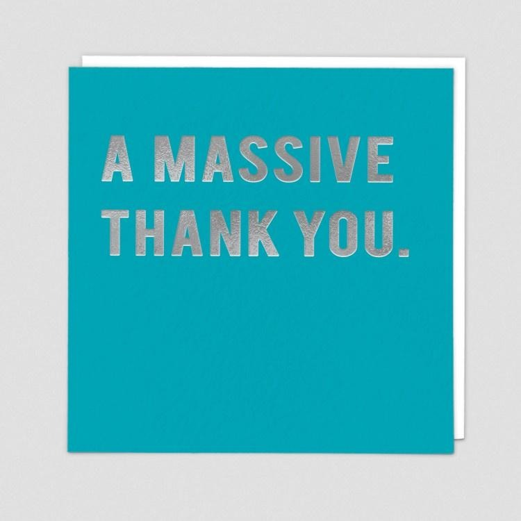 A Massive Thank You Cards Default Title Redback Cards