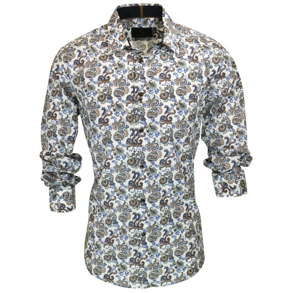Seth Shirt - Prussian Mens Clothing M,L,XL,2XL,3XL Cutler & Co