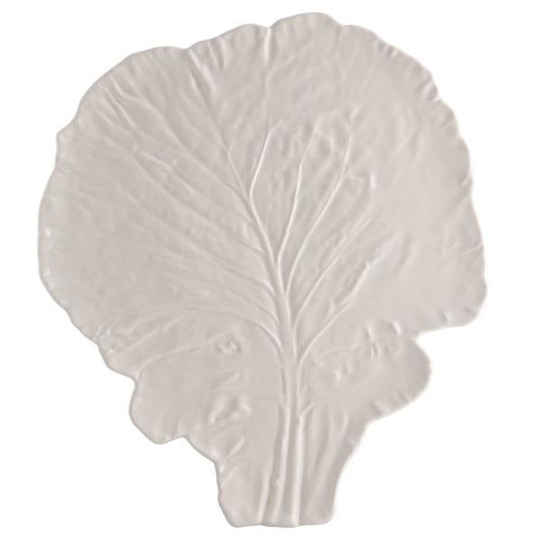 Cabbage Cheese Tray - Beige Serveware Default Title Bordallo Pinheiro