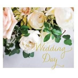 Wedding Day White Roses Cards Default Title Susan O'Hanlon