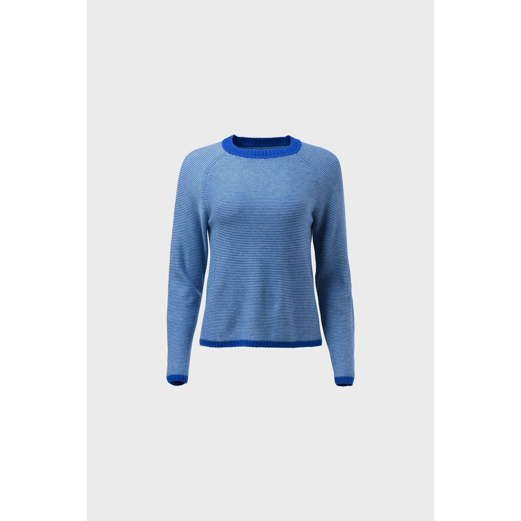 Elk Clothing Cora Blue Sweater, Elk NZ Stockist