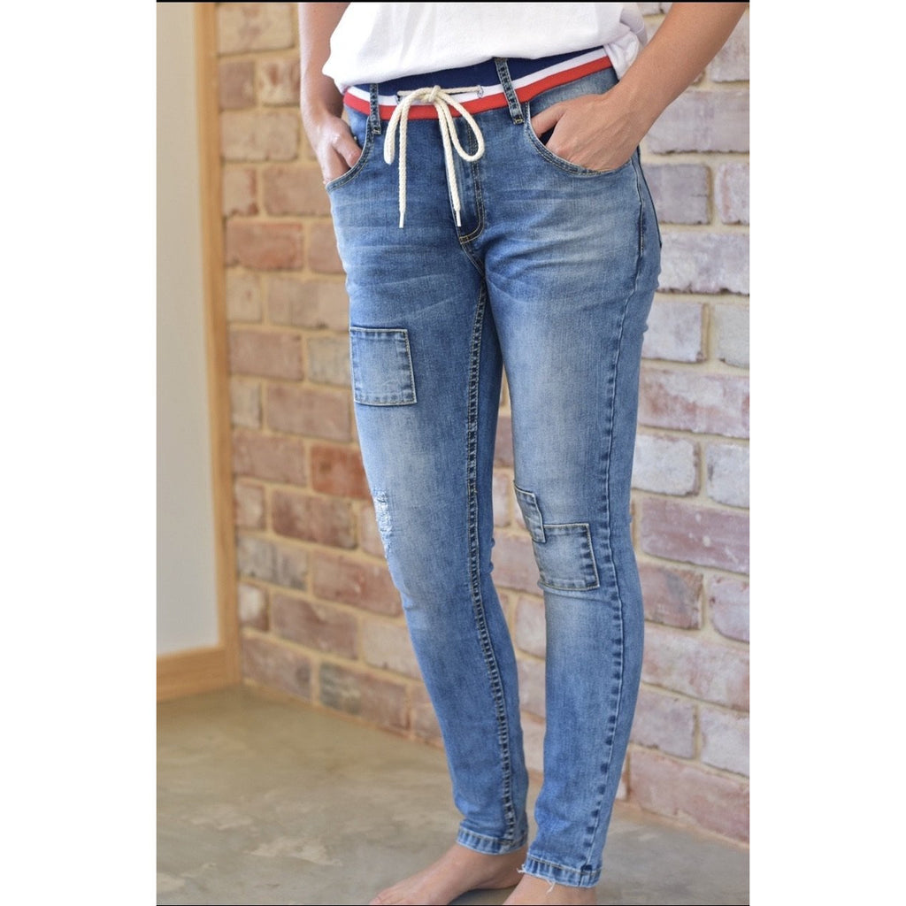 Skinny Jeans - Blue Womens Clothing XS,S,M,L,XL Style Laundry